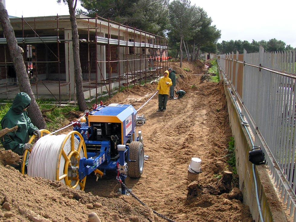 Allacciamento linea elettrica effettuato ad Acate (Ragusa RG) da esperti del settore