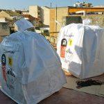 Smaltimento recipienti in cemento amianto a Vittoria (RG)