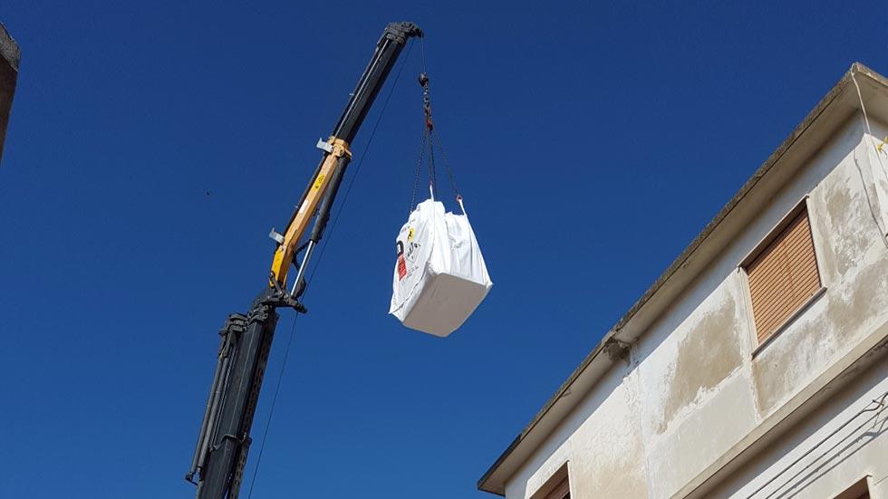 RImozione e trasporto dei recipienti in amianto a Ragusa
