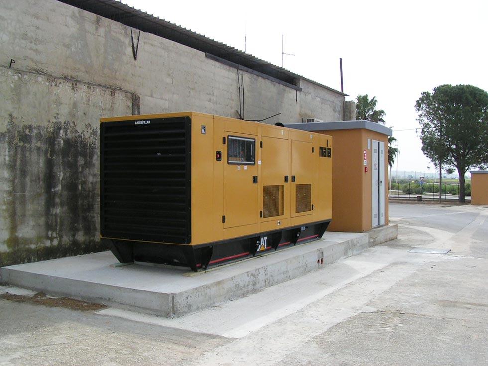 Installazione gruppo elettrogeno