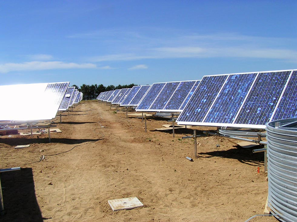 Progettazione impianti fotovoltaici ad inseguimento in Sicilia