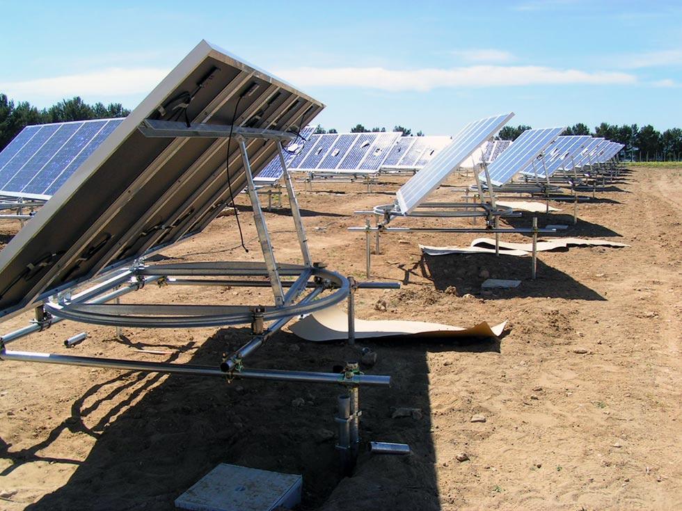 Impianti fotovoltaici ad inseguimento ad un asse installati a Ragusa (RG)