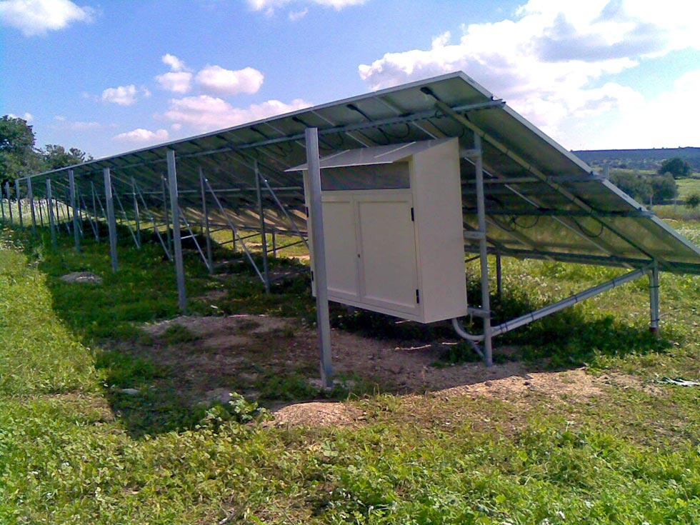 Impianto fotovoltaico installato a terra a ragusa rg for Puoi ottenere un prestito per la terra