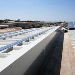 Installazione della struttura dell'impianto fotovoltaico