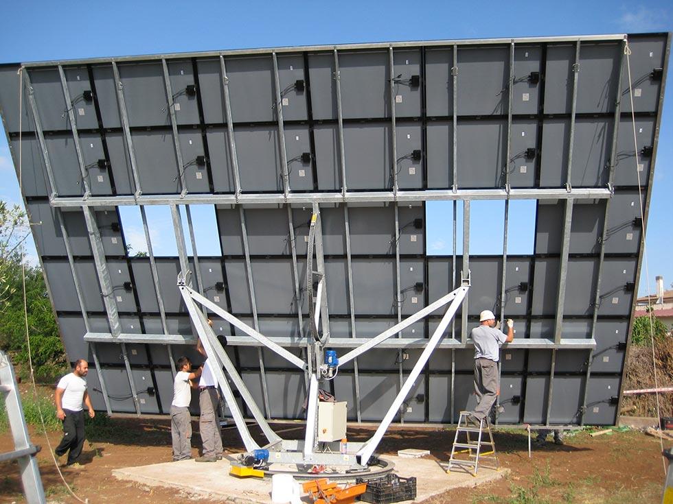 Manutenzione di impianti fotovoltaici