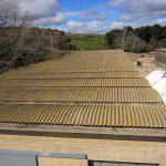 Smaltimento amianto e rifacimento copertura industriale