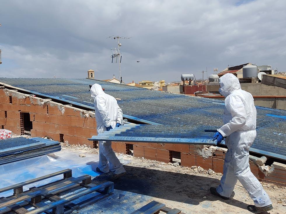 Smaltimento lastre di eternit/cemento amianto Ragusa