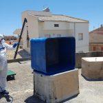 Smaltimento serbatoi in eternit a Scoglitti (RG)