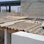Smaltimento tettoia in eternit a Cava D'Aliga (RG)