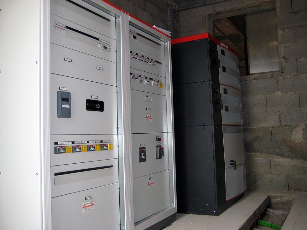 Sala macchine per la gestione di tutte le tipologie di impianti fotovoltaici
